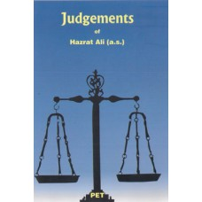 JUDGEMENTS OF HAZRAT ALI (A.S)