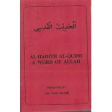AL-HADITH AL-QUDSI A WORD OF ALLAH